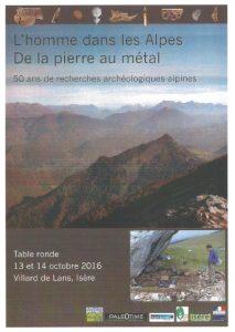 L'homme dans les Alpes : de la pierre au métal